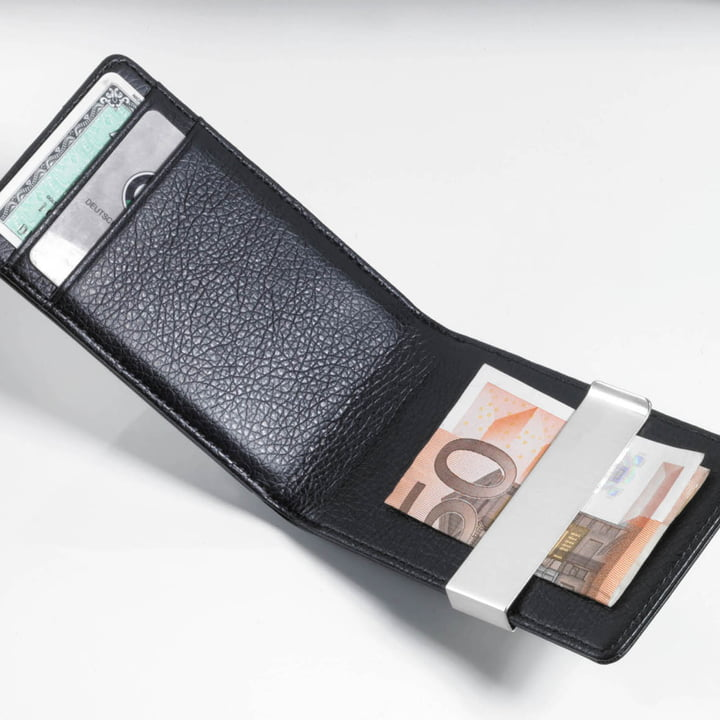 Troika - Midnight Credit Card Case, black