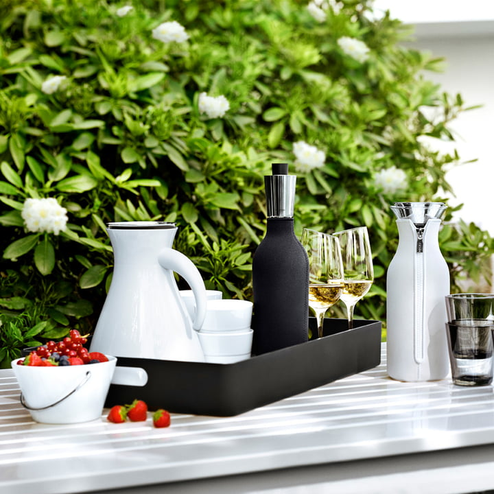 Eva Solo - Serving tray with handles, black