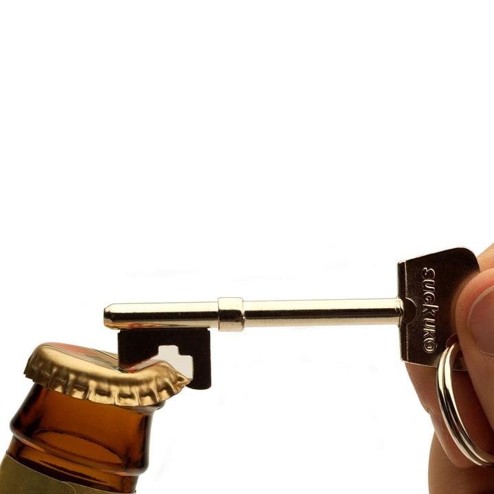 Suck UK - Key bottle opener - open, closeup