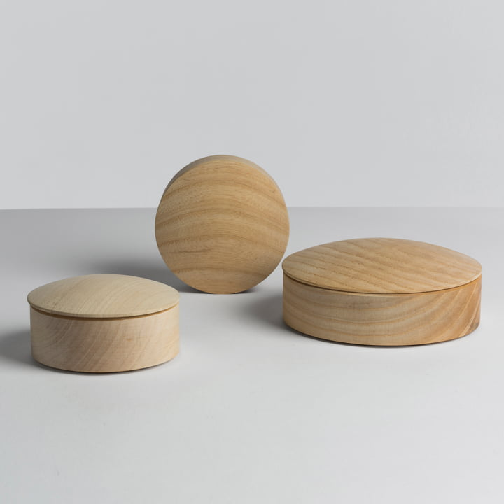 Hay - Lens Box / Lid, maple - group