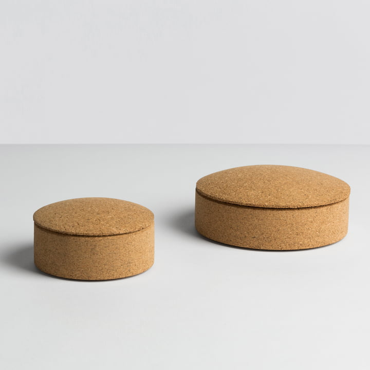Hay - Lens Box / Lid, cork - sizes