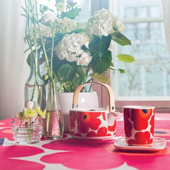 Marimekko - Unikko tableware