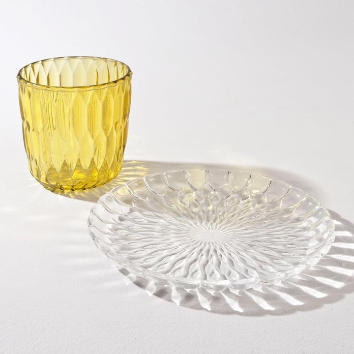 Kartell - Jelly Plate, Vase