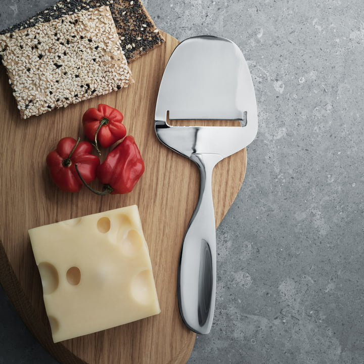 Georg Jensen - Alfredo Cheese Slicer, stainless steel, polished