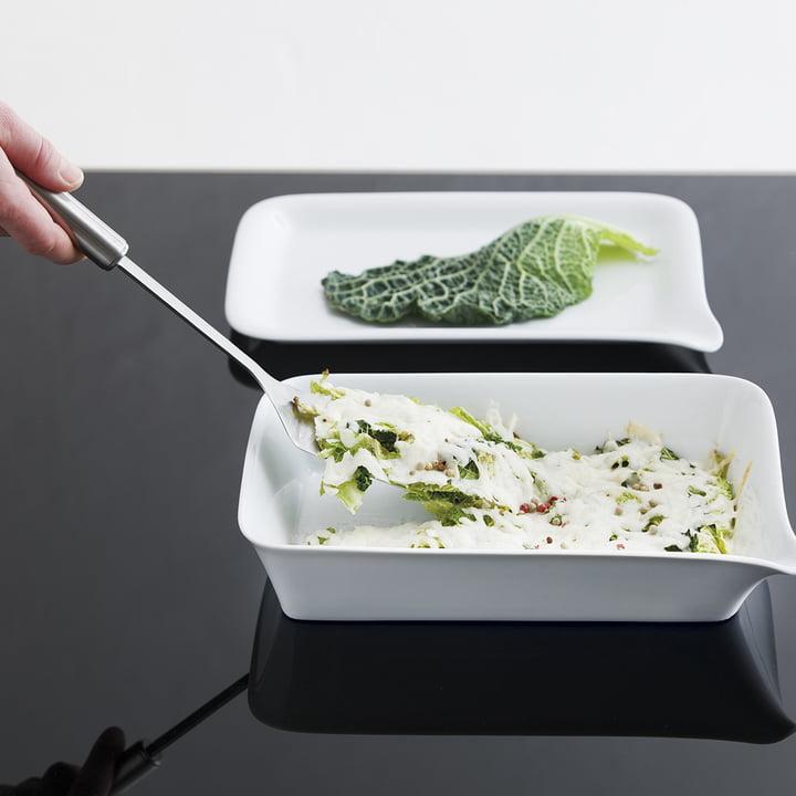 Kahla - Magic Grip baking dish and menu plate