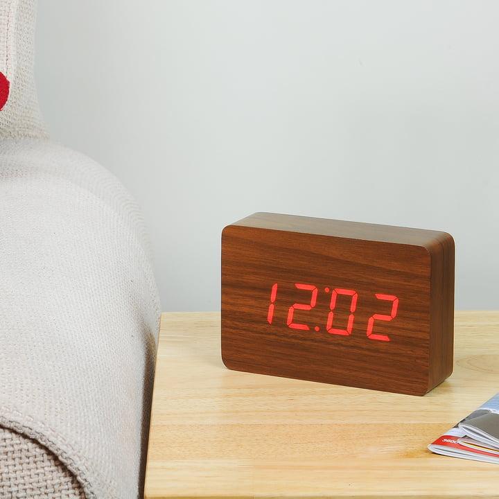Gingko - Brick, walnut / LED red