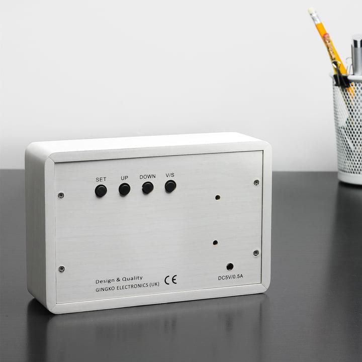 Gingko - Brick, white / LED white