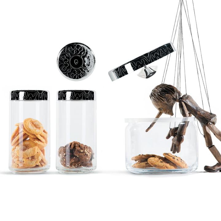 Alessi - Dressed Storage Jars