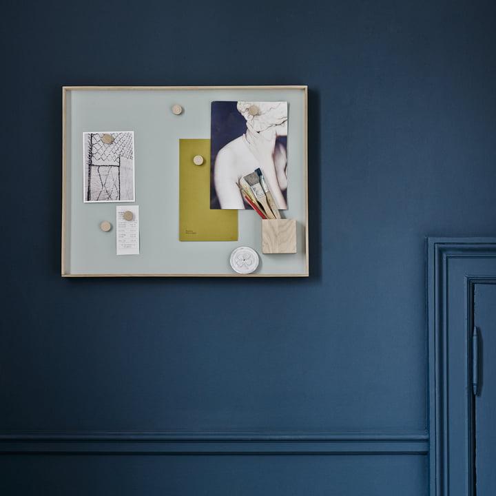 Pin board as wall decoration