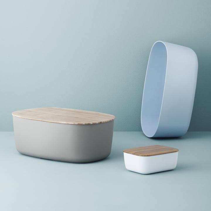 Box-It bread box with Box-It butter box