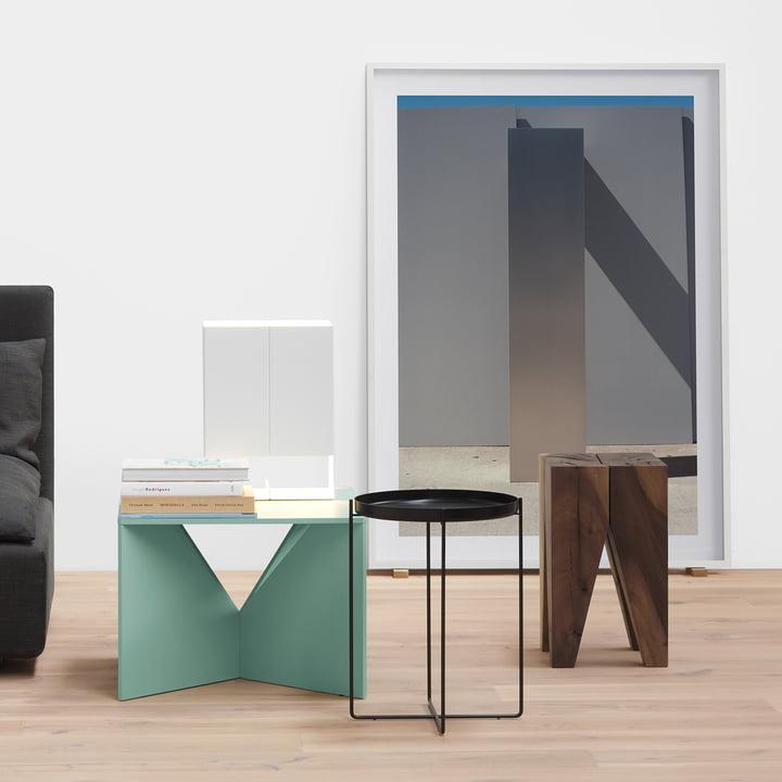 e15 tables as sculptures - elegant design for at home