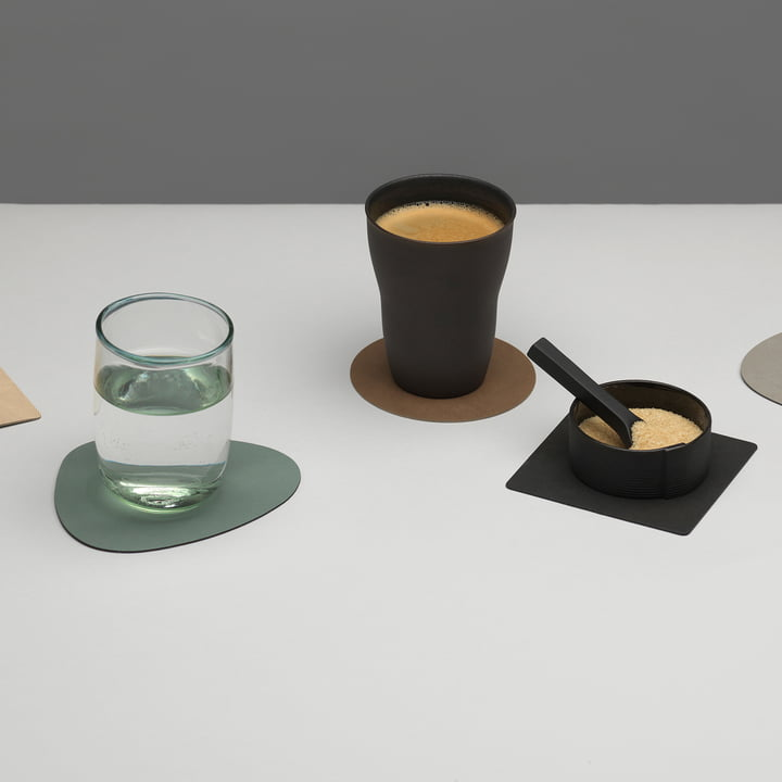 Glass Coasters by LindDNA