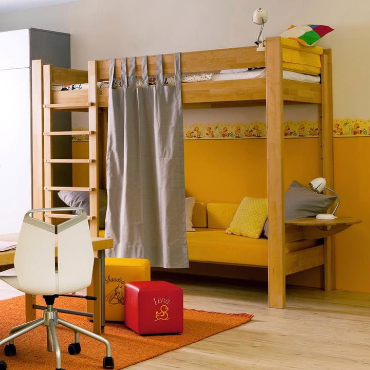 De Breuyn Basis Bedframe as bunk bed