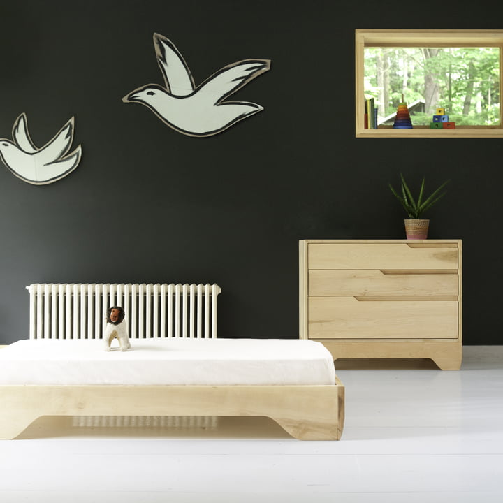 Echo Crib, Toddler Bed and Dresser by Kalon