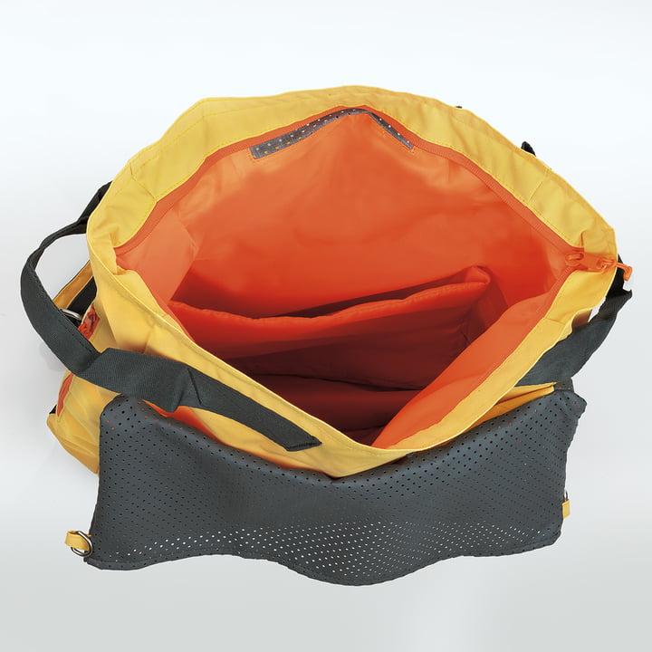 Tane Kopu Beach Backpack by Terra Nation in yellow