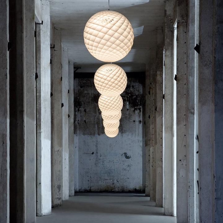 the patera pendant lamp by louis poulsen. Black Bedroom Furniture Sets. Home Design Ideas
