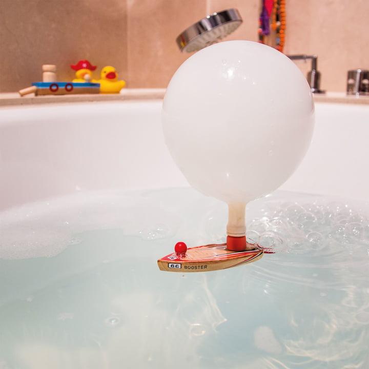 Balloon Puster in the Bathtub