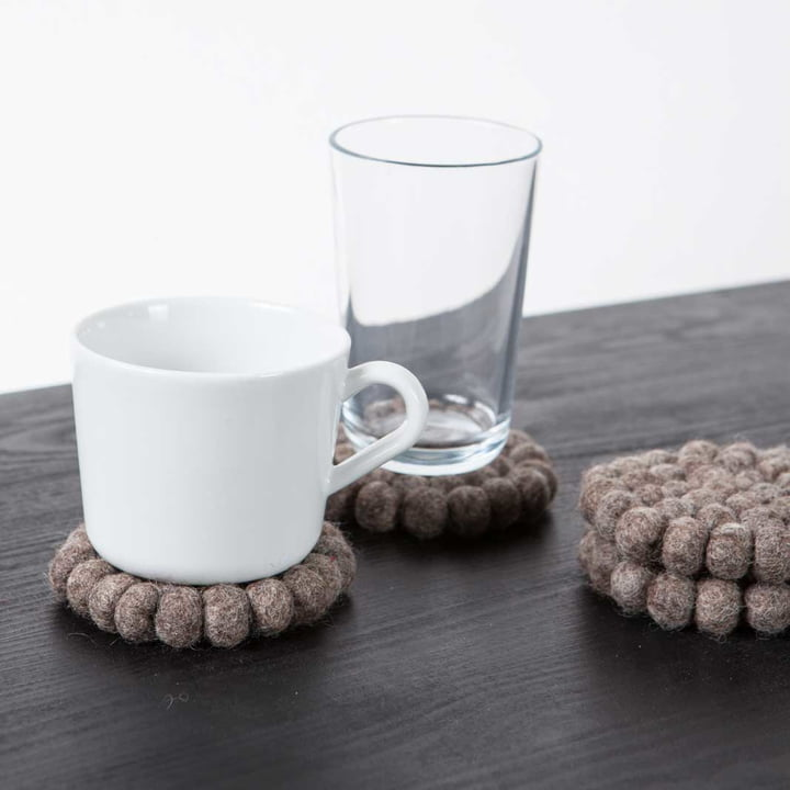The myfelt - coaster, Ø 9 cm in Alwin