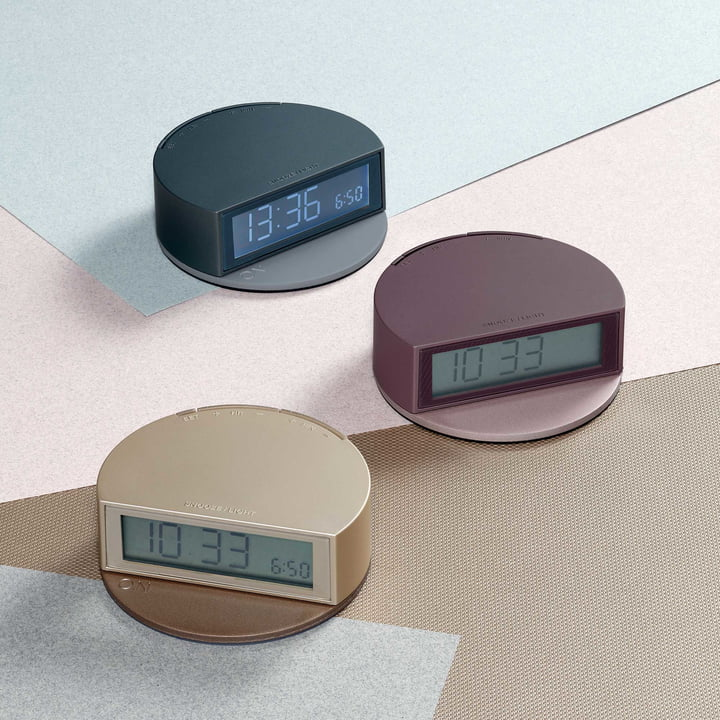 Fine Clock by Lexon out of ABS and Metal