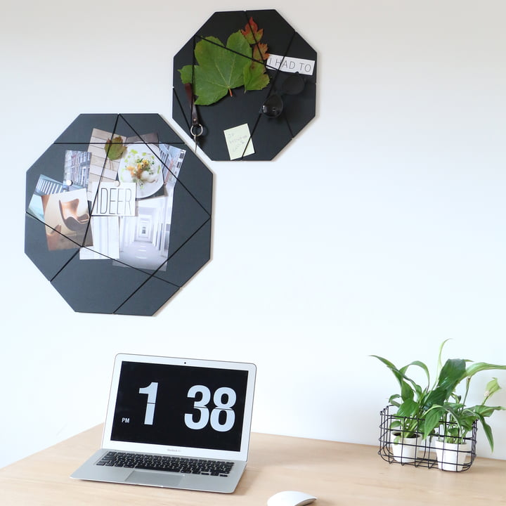 Pinboard by Nichba Design in black