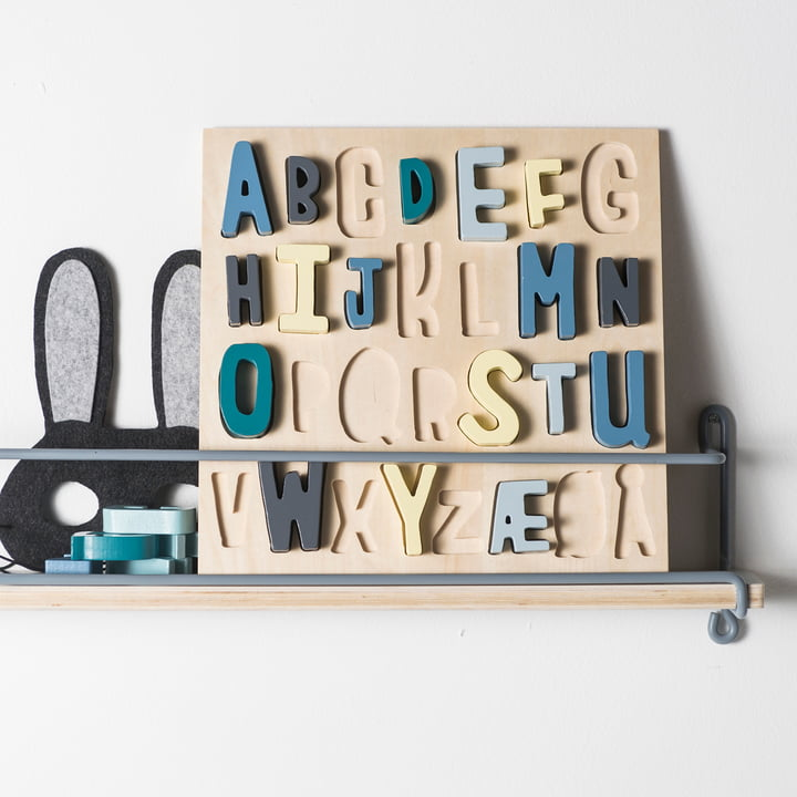 Wooden Puzzle ABC by Sebra