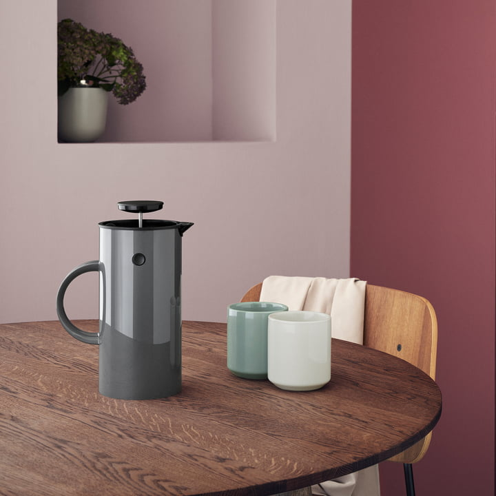 Core Thermos Mug with Coffee Maker by Stelton
