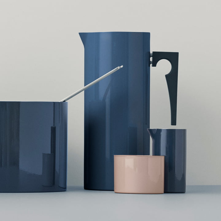Stelton - Cylinda Line Jug with Ice Stopper