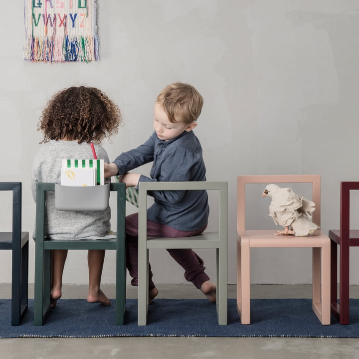 Little Architect Chair with Pocket by ferm Living