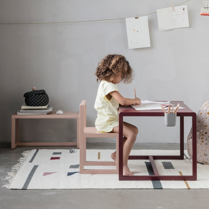 Little Architect Chair, Table and Bench by ferm Living