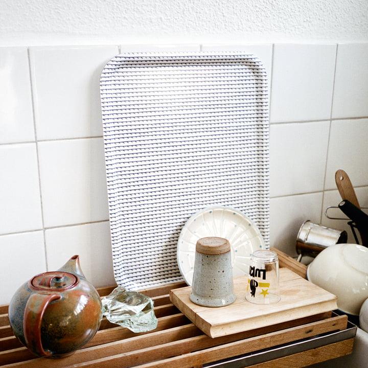 Rivi Tray by Artek in the Kitchen