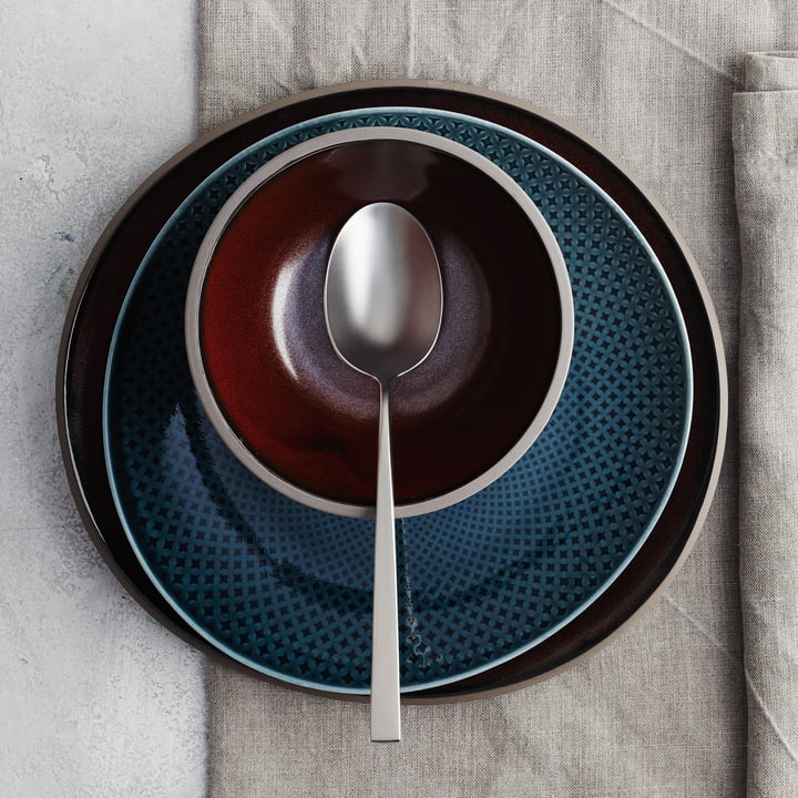Junto tableware made of stoneware by Rosenthal