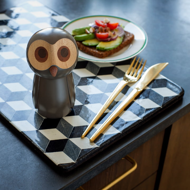 Pepper Mill Owl by Spring Copenhagen
