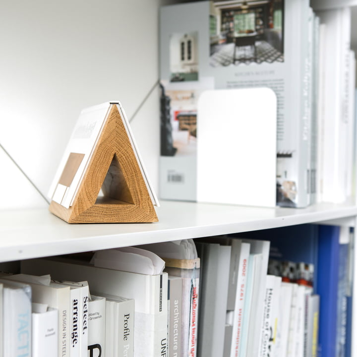 Wooden Triangle - Bookmark for Softcover Books