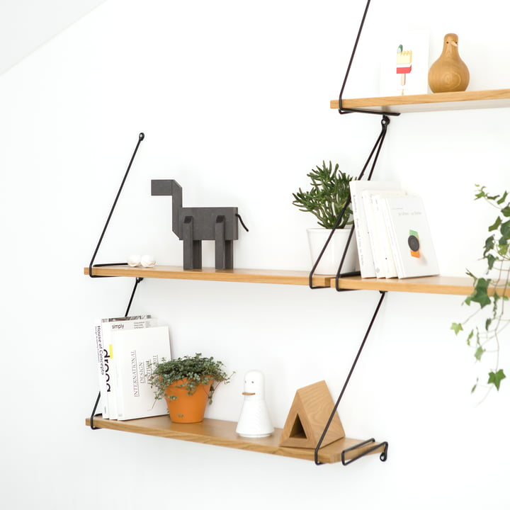 Wall Shelf for Books, Accessories and Plants
