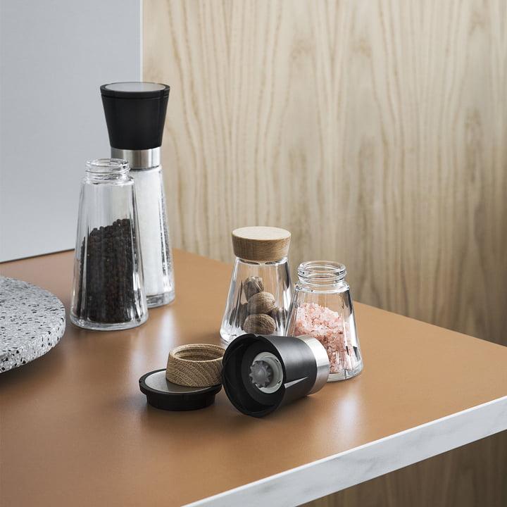 Grand Cru Storage Jar and Mills by Rosendahl