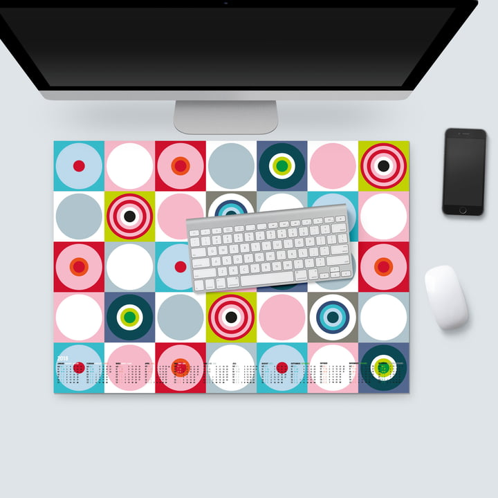 Remember - Desk Pad with Calendar 2018