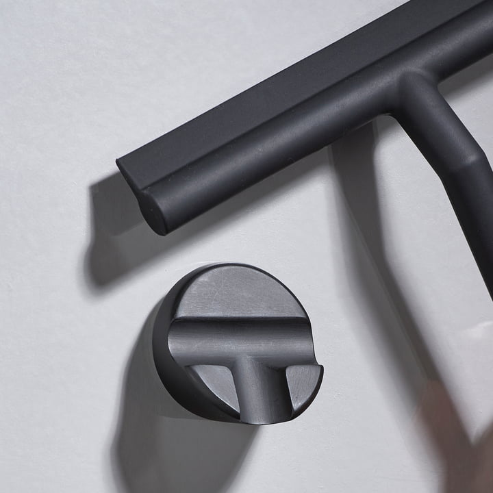 The Zone Denmark - Shower Squeegee with Holder in Black