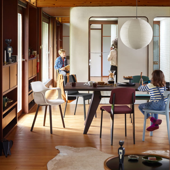 Modern Dining Area by Vitra