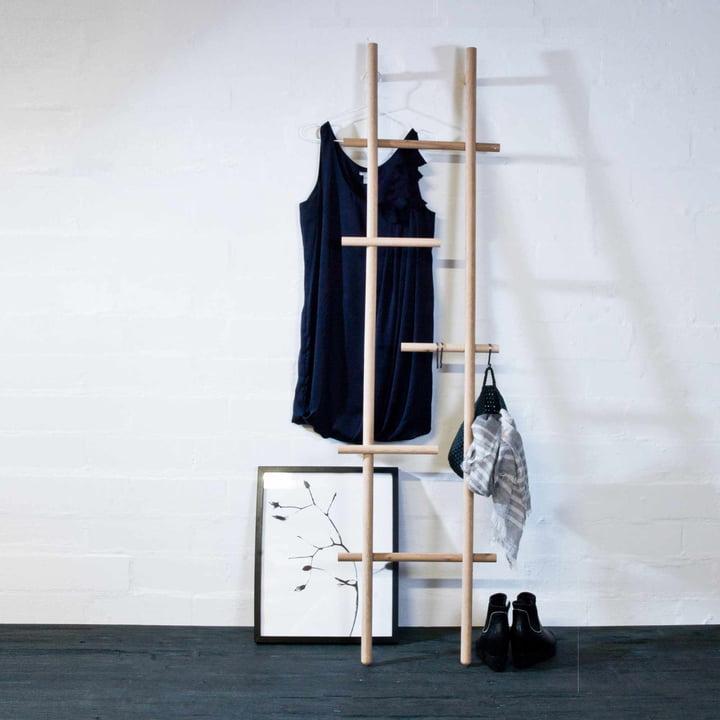 Wooden Lendra Ladder By Kommod Connox Shop