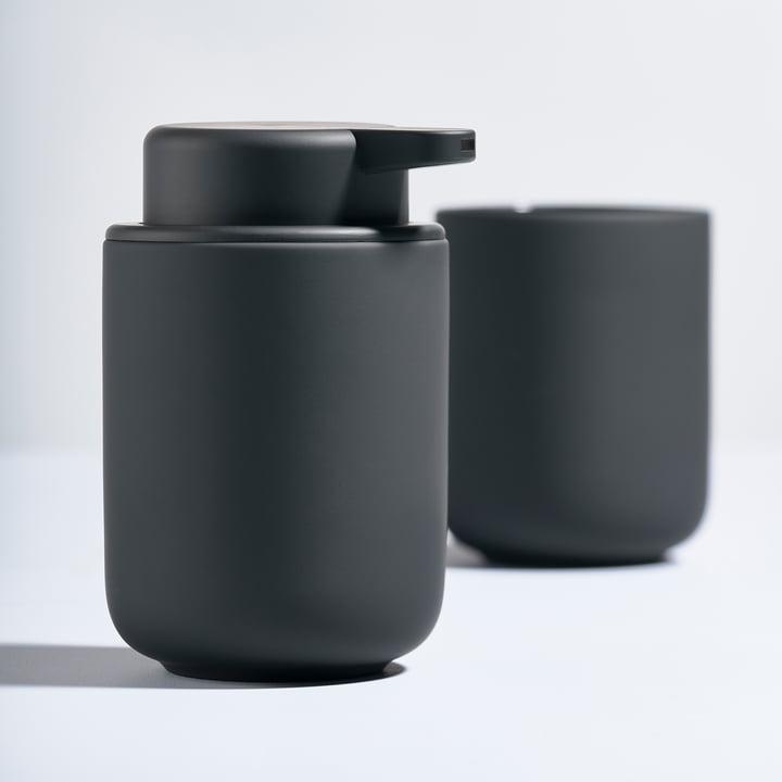 The Zone Denmark - Ume Soap Dispenser and Toothbrush Holder