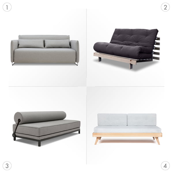 Sofa Graphic 3 - Sleeping sofas