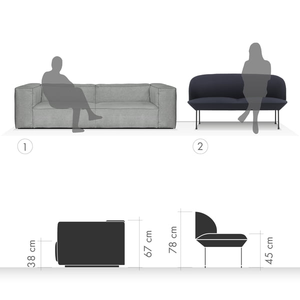 Sofa Graphic 4 - Sitting and relaxing