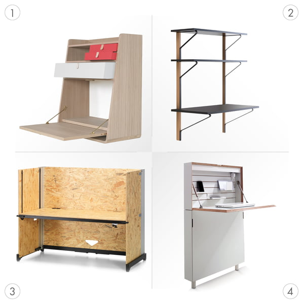Desk Graphic 3 - different types