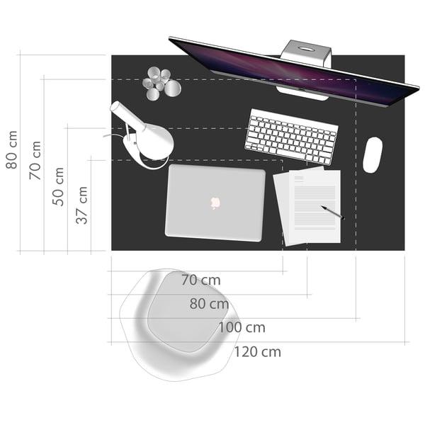 Desk Graphic 5 - Workspace Size