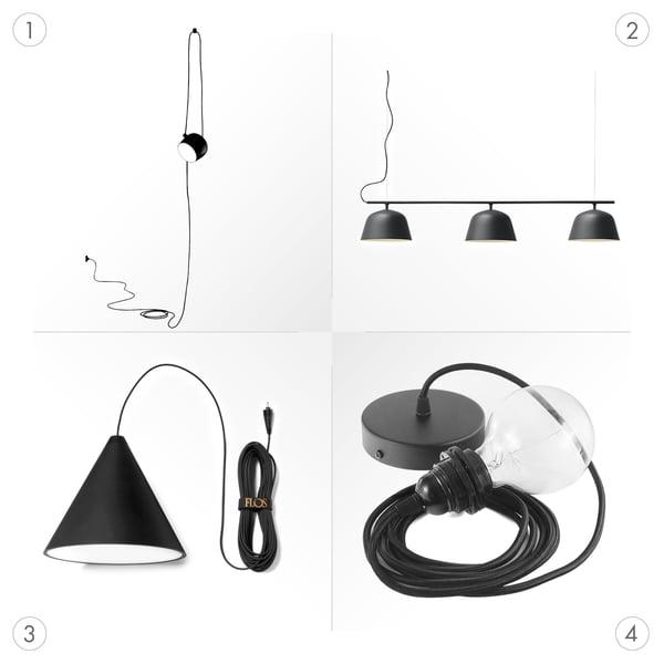 PUK pendant luminaires - Graphics - Design pendant luminaires