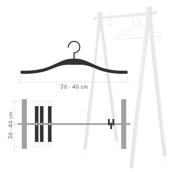 Coat rack hook vs. hanger